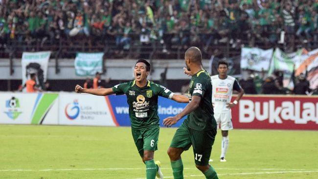 Persebaya Surabaya meraih kemenangan tandang ketika bertamu ke markas Bali United di Stadion I Wayan Dipta, Gianyar, Minggu (18/11).