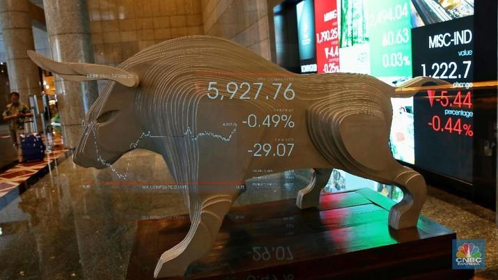 IHSG Anjlok Hampir 4%, The Fed Gagal Tenangkan Pasar