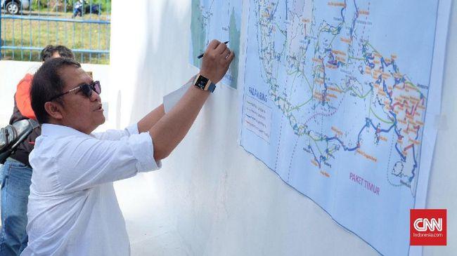 Pembangunan Palapa Ring Paket Timur Rampung