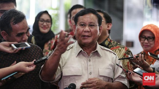 Polisi atau intelijen, menurut Prabowo, seperti rencong atau keris yang meski tajam namun sangat bergantung pada orang yang menggunakannya.