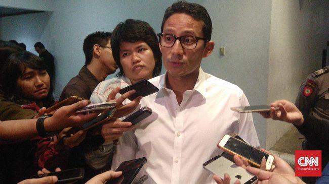 Sandiaga meminta pemerintah menyelesaikan tuntutan buruh terkait omnibus law
