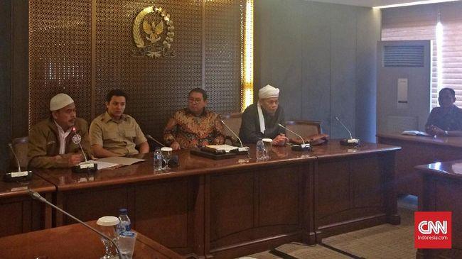 Persaudaraan Alumni 212 menyampaikan 8 tuntutan saat bertemu Wakil Ketua DPR Fadli Zon. Salah satunya mendesak pembentukan pansus terkait kerusuhan Mako Brimob.