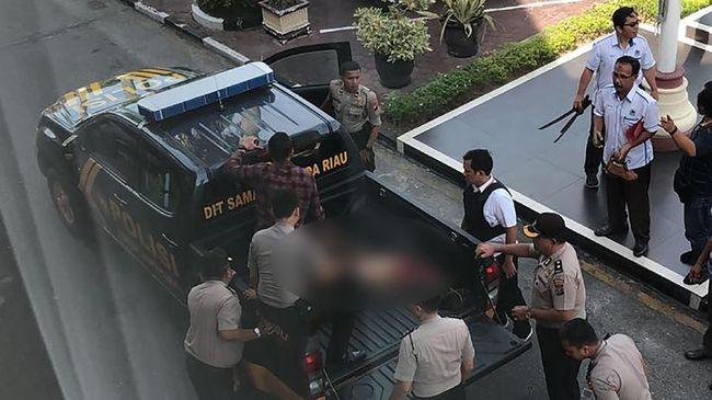 Polisi Tangkap Penyerang Mapolda Riau yang Sempat Kabur