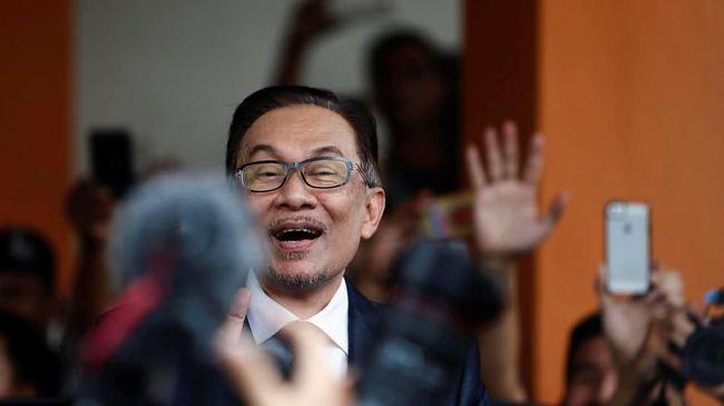 Resmi Bebas, Anwar Ibrahim Langsung Diundang oleh Raja