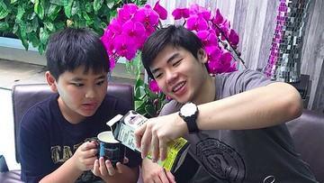 Sweet! Kedekatan Nicholas Sean dengan Adik Laki-lakinya, Daud