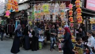 Mata Uang Israel Banjiri Pasar Palestina