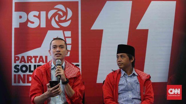 KPU menyatakan setelah dihitung ulang ternyata dana awal kampanye PSI mencapai Rp4,9 miliar.