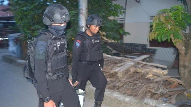 Kesaksian Warga Lampung soal Densus Amankan Terduga Radikal