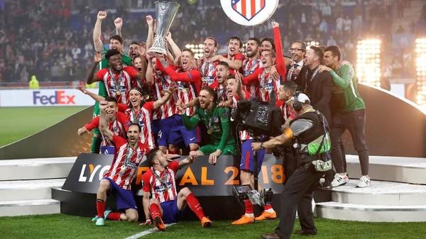 Atletico Madrid Kampiun Liga Europa