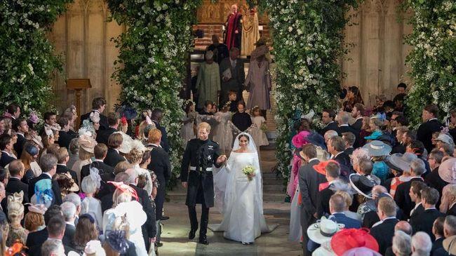 Jumlah penonton pernikahan Pangeran Harry dan Meghan Markle di televisi, Sabtu (19/5) lalu mengalahkan penonton Pangeran William dan Kate Middleton.