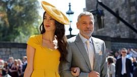 FOTO: Pesohor Berjas dan Bertopi di Pernikahan Pangeran Harry
