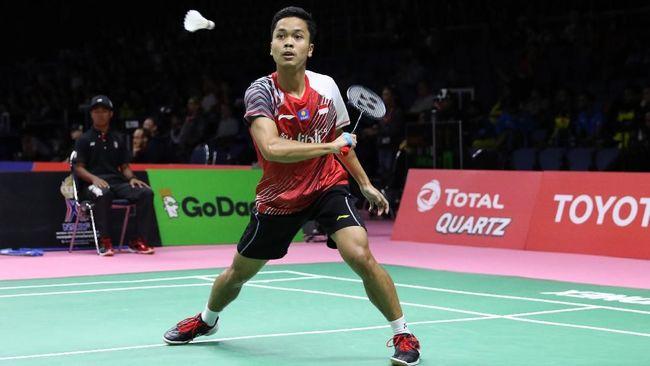 Anthony Sinisuka Ginting berharap bisa mempertahankan gelar juara pada turnamen Indonesia Masters dan meraih gelar pertama pada tahun 2019.