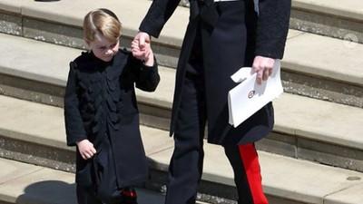 Gemas! Pangeran George Disebut 'Mini-Me' Pangeran William
