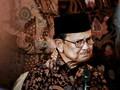 Kondisi Habibie Mulai Stabil, Keluarga Batasi Kunjungan