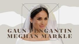 INFOGRAFIS: Detail Gaun Pernikahan Meghan Markle