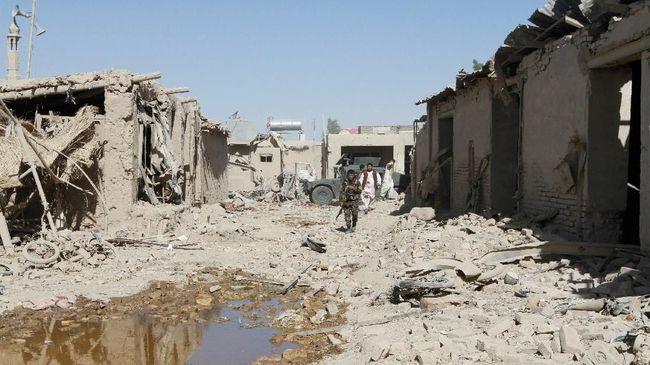 Bom Meledak di Afghanistan, Komandan Milisi Anti-ISIS Tewas