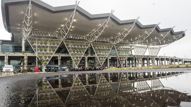 Presiden Joko Widodo meresmikan Bandara Internasional Jawa Barat Kertajati, Kamis (24/5). BIJB Kertajati menjadi bandara terbesar kedua setelah Soekarno Hatta.