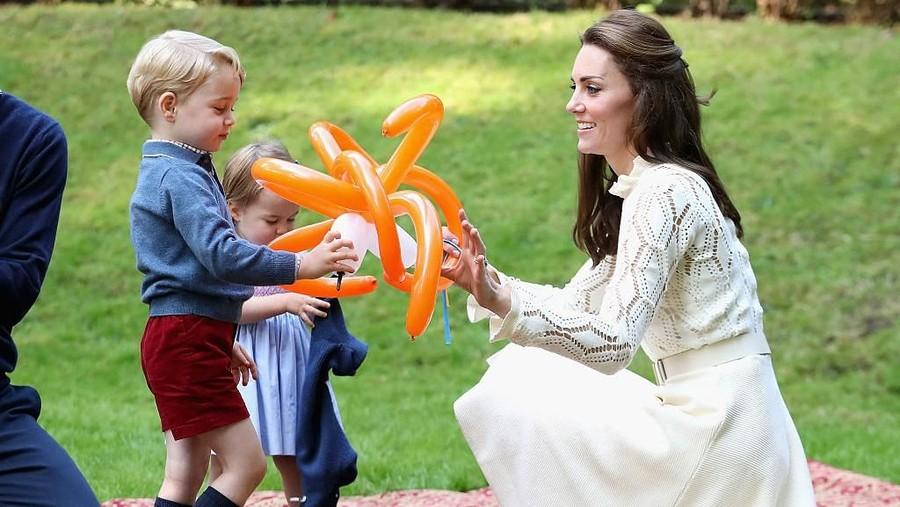 Begini Quality Time Kate Middleton Bersama Anak-anaknya
