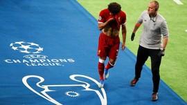 FOTO: Akhir Tragis Mohamed Salah di Final Liga Champions 2018