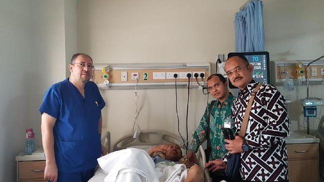 Kedutaan Besar Republik Indonesia (KBRI) Riyadh memulangkan Anies, Warga Negara Indonesia (WNI) penderita penyakit akut yang kronis pada Selasa (29/5).