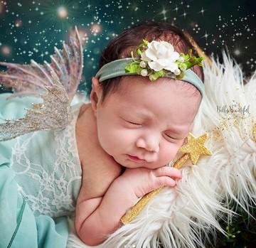 Imut Maksimal Saat Bayi Baru Lahir Jadi Tokoh Peter Pan Foto 1