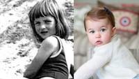 <p>Dengan ekspresi yang agak mirip, apakah Putri Charlotte terlihat mirip dengan Nenek Diana saat kecil? (Foto: Instagram @theroyalcourier)</p>