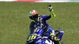 Jatuh di Malaysia, Rossi Gagal Jadi Runner-up MotoGP 2018