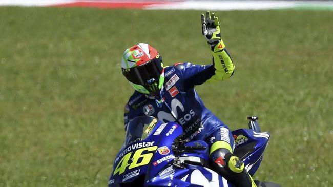 Pebalap Movistar Yamaha Valentino Rossi dipastikan gagal menjadi runner-up setelah gagal mendapatkan poin usai terjatuh pada balapan MotoGP Malaysia 2018.