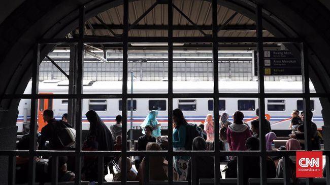 Kereta Tambahan Mudik Beroperasi Sampai 26 Juni