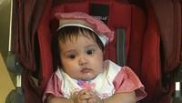 <p>Tanggal 25 Mei lalu, gadis cilik bernama lengkap Andi Kylie Zhivanna Ali ini genap berumur 4 bulan. (Foto: Instagram/@andisorayabeatrix)</p>
