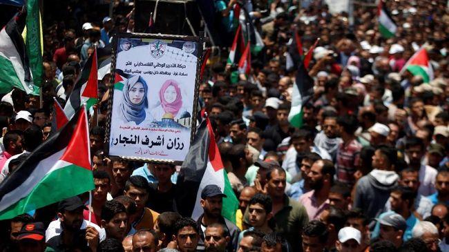 Militer dan Kepolisian Israel baru mengadakan penyelidikan atas pembunuhan terhadap Razan al-Najjar oleh tentara zionis di Jalur Gaza.
