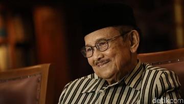 Cerita BJ Habibie Saat Kecil: Tak Kepikiran akan Jadi Presiden