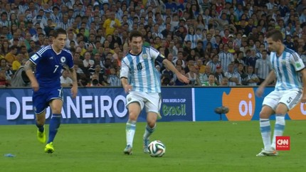 VIDEO: Aksi Lionel Messi di Piala Dunia 2014