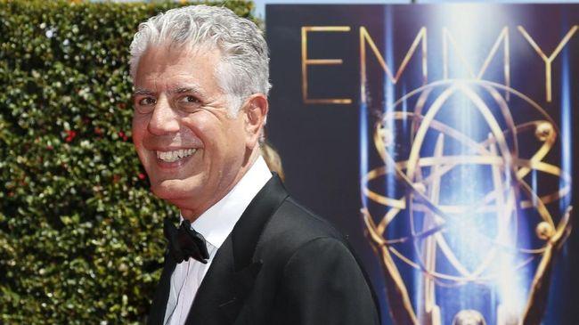 Anthony Bourdain mengantongi dua nominasi, sedang 'Parts Unknown' mendapat enam nominasi dalam ajang pernghargaan TV Emmy Awards tahun ini.
