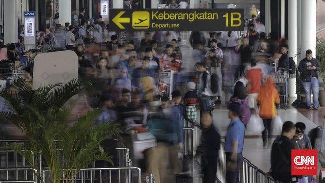Bandara Soekarno-Hatta Sudah Layani Belasan Ribu Pemudik