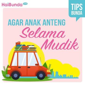 Tips Agar Anak Anteng dalam Perjalanan Mudik