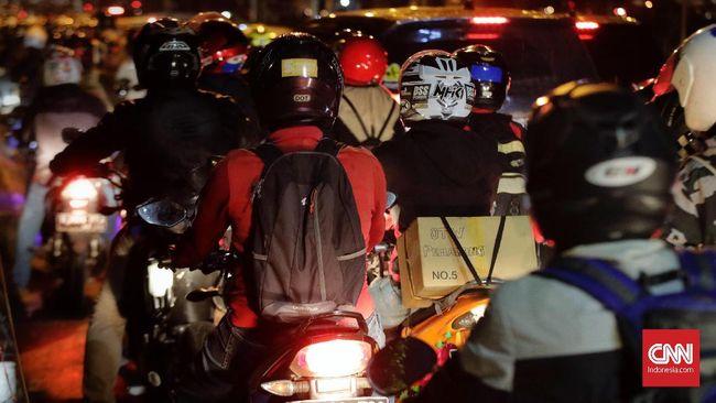 Polisi mengantisipasi tumpukan kendaraan di jalur Kalimalang yang biasa disebut terjadi sebelum dan sesudah sahur.