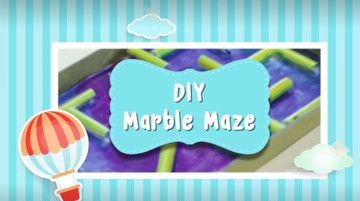Kreasi DIY di Rumah: Marble Maze