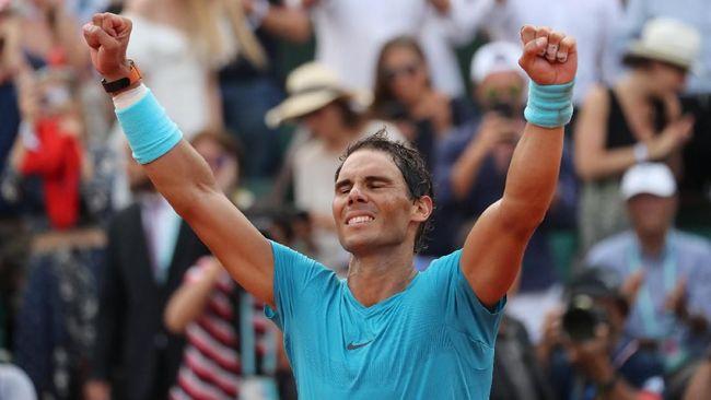 Toni Nadal menyebut Rafael Nadal punya etos kerja seperti yang ditunjukkan oleh bintang Juventus, Cristiano Ronaldo.