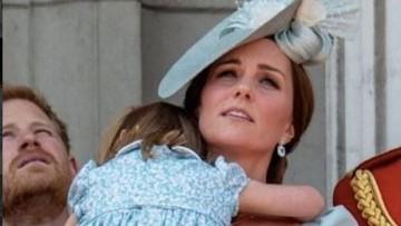 Saat Putri Charlotte Jatuh di Peringatan Ultah Ratu Elizabeth