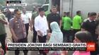 Presiden Jokowi Bagi Sembako Gratis