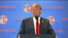 VIDEO: Trump Sebut Korut Hancurkan Situs Uji Rudal Utamanya