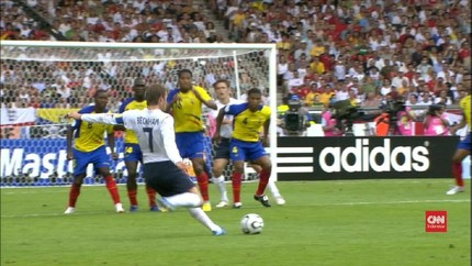 VIDEO: 4 Gol Tendangan Bebas Terbaik di Piala Dunia