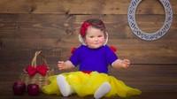 <p>Aih, ini dia Snow White berpipi merah dan gembil. (Foto: Instagram/@mira_seshu) </p>