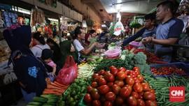 Keluh Pedagang Pasar di Tengah Harga Pangan Stabil