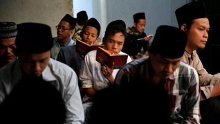 FOTO: Hari-hari Tanpa Radikalisme di Pesantren Tua Jawa