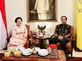 Jokowi Satu Jam Lebaran di Rumah Megawati