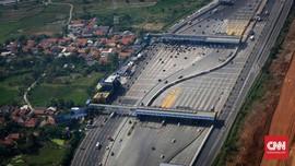 Arus Balik Lebaran, Tol Cikampek-Jakarta KM 29 Ramai Lancar