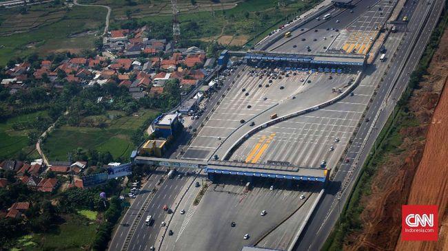 Arus balik di Tol Cikampek-Jakarta dilaporkan masih ramai lancar pada H+3 Lebaran, Sabtu (8/6) pagi.