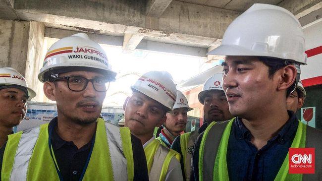 Wakil Gubernur DKI Jakarta Sandiaga Uno menginginkan harga tiket LRT digratiskan sementara selama gelaran Asian Games 2018.